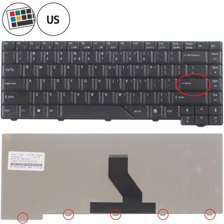 Acer Aspire 7520G Klávesnice pro notebook - americká - US + zprostředkování servisu v ČR