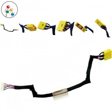 Lenovo IdeaPad S500 Napájecí konektor - dc jack pro notebook - 5 pinů s připojovacím kabelem + zprostředkování servisu v ČR