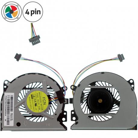 HP ENVY 15-u000NC Ventilátor pro notebook - 4 piny z plastu i kovu 5 dir na šroubky + zprostředkování servisu v ČR