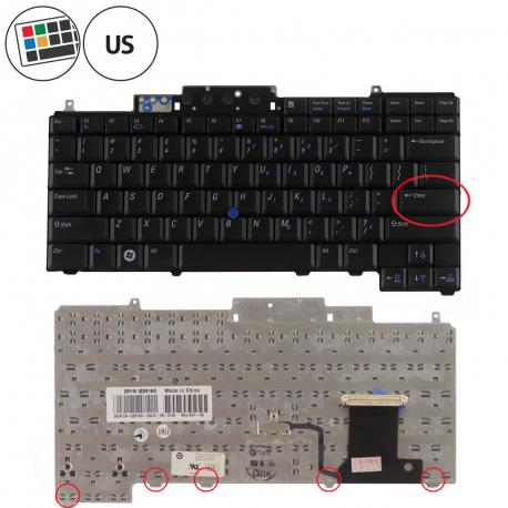 Dell Latitude D630 Klávesnice pro notebook - americká - US + zprostředkování servisu v ČR