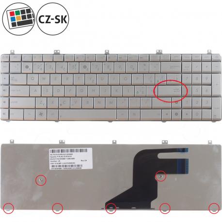 Asus N75SF Klávesnice pro notebook - CZ / SK + doprava zdarma + zprostředkování servisu v ČR
