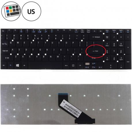 Acer Aspire E5-572 Klávesnice pro notebook - americká - US + zprostředkování servisu v ČR