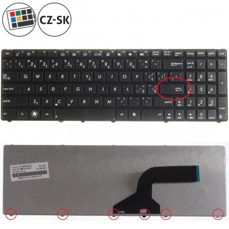Asus N53SM Klávesnice pro notebook - CZ / SK + zprostředkování servisu v ČR