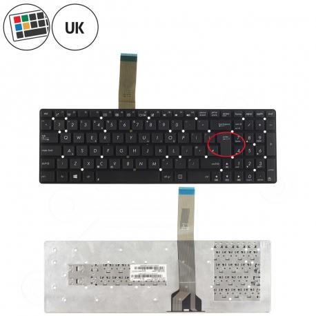 Asus K55VJ Klávesnice pro notebook - anglická - UK + zprostředkování servisu v ČR