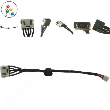 Lenovo IdeaPad 300-15IBR Napájecí konektor - dc jack pro notebook - s připojovacím kabelem plast + zprostředkování servisu v ČR