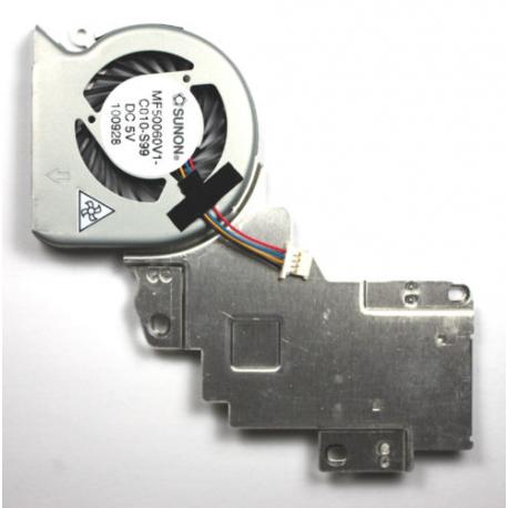 Toshiba Mini nb550d Ventilátor pro notebook - 4 piny celý z kovu 4 díry na šroubky + zprostředkování servisu v ČR