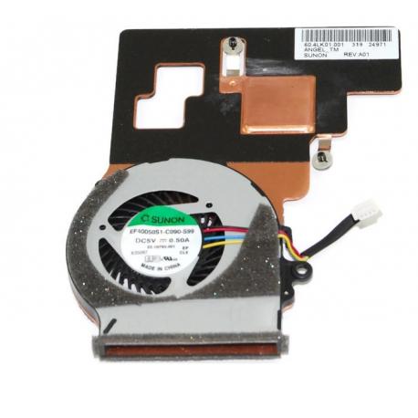 Acer Aspire V5-122P Ventilátor pro notebook - 4 piny chladící těleso je součástí + zprostředkování servisu v ČR