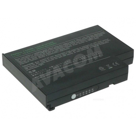 ALPHA QBP3000-4000 Baterie pro notebook - 4600mAh 8 článků + doprava zdarma + zprostředkování servisu v ČR