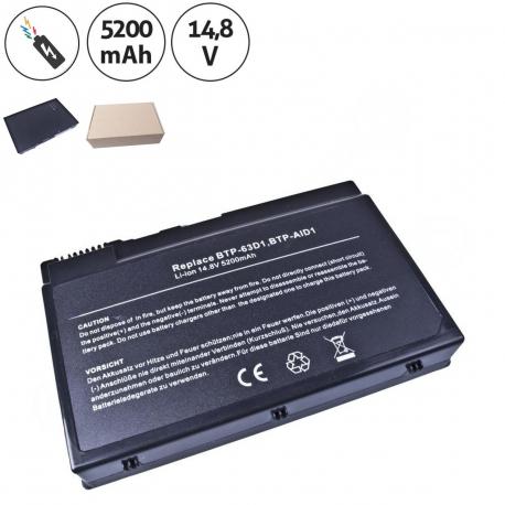 BTP-98H1 Baterie pro notebook - 5200mAh 8 článků + doprava zdarma + zprostředkování servisu v ČR