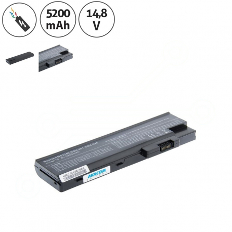 Acer Aspire 1640Z Baterie pro notebook - 5200mAh 8 článků + doprava zdarma + zprostředkování servisu v ČR