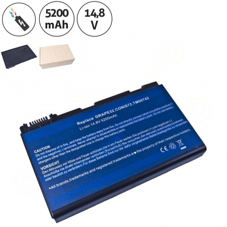Acer Extensa 5220-051g08mi Baterie pro notebook - 5200mAh 8 článků + doprava zdarma + zprostředkování servisu v ČR