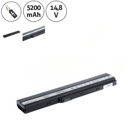 Asus k52dr-ex073v Baterie pro notebook - 5200mAh 8 článků + doprava zdarma + zprostředkování servisu v ČR