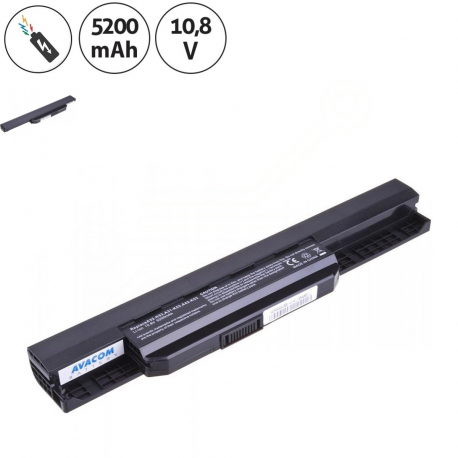 Asus K53SM Baterie pro notebook - 5200mAh 6 článků + doprava zdarma + zprostředkování servisu v ČR
