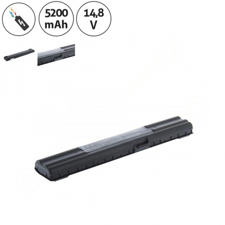 ASUS A42-A6 Baterie pro notebook - 5200mAh 8 článků + doprava zdarma + zprostředkování servisu v ČR
