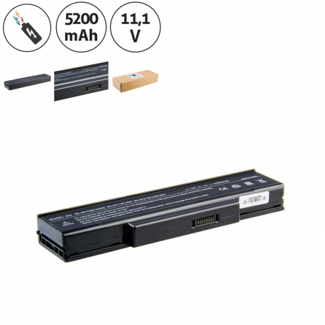 UMAX BTY-M66 Baterie pro notebook - 5200mAh 6 článků + doprava zdarma + zprostředkování servisu v ČR