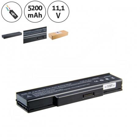 CLEVO BTY-M66 Baterie pro notebook - 5200mAh 6 článků + doprava zdarma + zprostředkování servisu v ČR