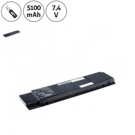 Asus Eee PC 1018P Baterie pro notebook - 5100mAh + doprava zdarma + zprostředkování servisu v ČR