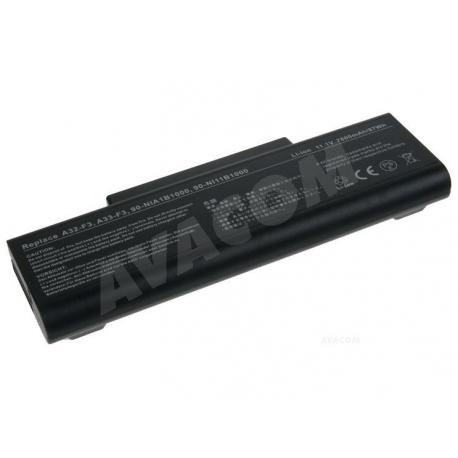 Asus F3 Baterie pro notebook - 7800mAh 9 článků + doprava zdarma + zprostředkování servisu v ČR