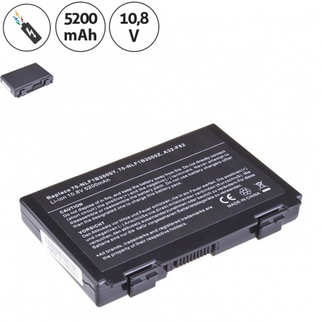 Asus K50ID Baterie pro notebook - 5200mAh 6 článků + doprava zdarma + zprostředkování servisu v ČR