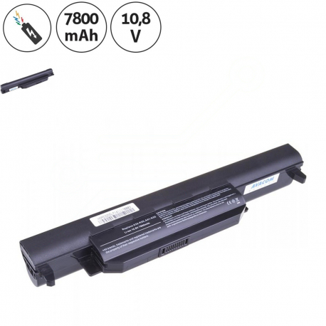 Asus X75VD Baterie pro notebook - 7800mAh 9 článků + doprava zdarma + zprostředkování servisu v ČR