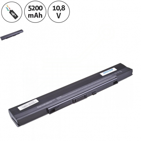 Asus U33JC Baterie pro notebook - 5200mAh 6 článků + doprava zdarma + zprostředkování servisu v ČR
