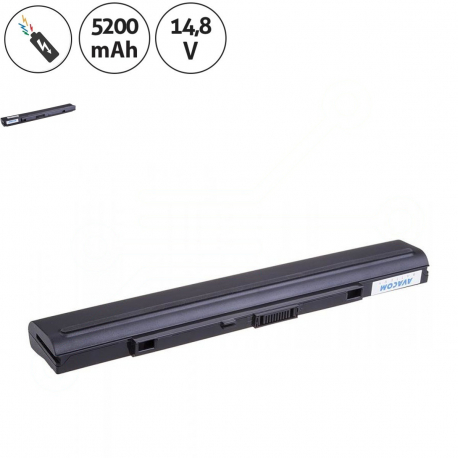 Asus U33JC Baterie pro notebook - 5200mAh 8 článků + doprava zdarma + zprostředkování servisu v ČR