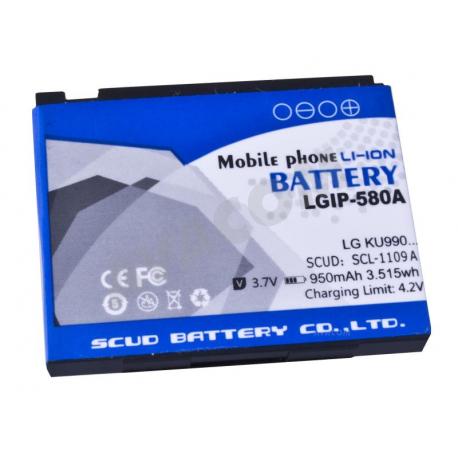 LG km900 Baterie pro notebook - 950mAh + zprostředkování servisu v ČR