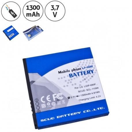 LG c900k quantum (pacific) Baterie pro notebook - 1300mAh + zprostředkování servisu v ČR