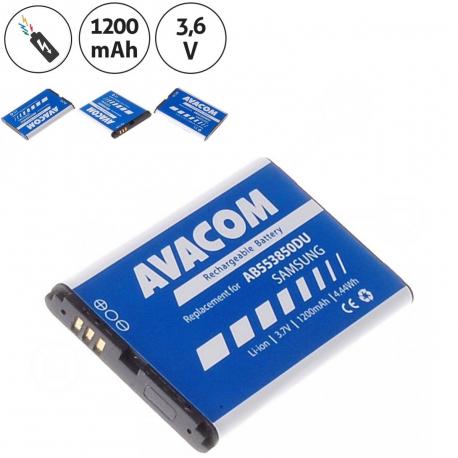 Samsung d880 Baterie pro notebook - 1200mAh + zprostředkování servisu v ČR