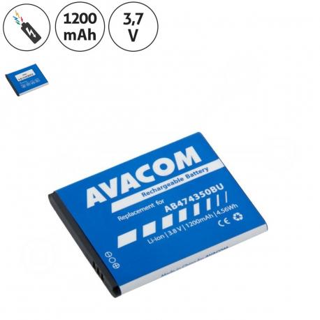 Samsung i550 Baterie pro mobilní telefon - 1200mAh + zprostředkování servisu v ČR