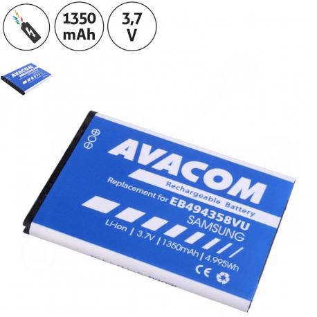 Samsung S5830i Baterie pro mobilní telefon - 1350mAh + zprostředkování servisu v ČR
