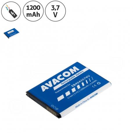 Samsung s5300 Galaxy pocket Baterie pro notebook - 1200mAh + zprostředkování servisu v ČR