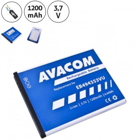 Samsung s5570 Baterie pro notebook - 1200mAh + zprostředkování servisu v ČR