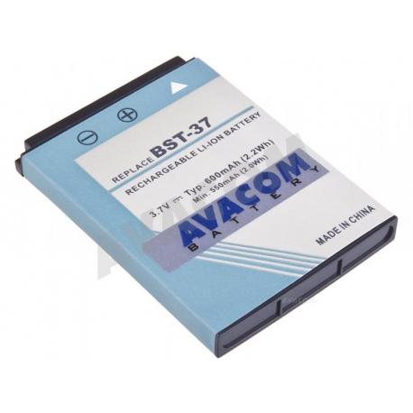 Sony Ericsson w550i Baterie pro notebook - 600mAh + zprostředkování servisu v ČR