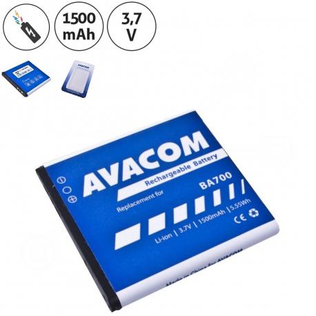 Sony Ericsson mk16i Baterie pro mobilní telefon - 1500mAh + zprostředkování servisu v ČR