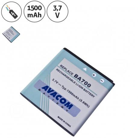 SONY ERICSSON BA700 Baterie pro mobilní telefon - 1500mAh + zprostředkování servisu v ČR