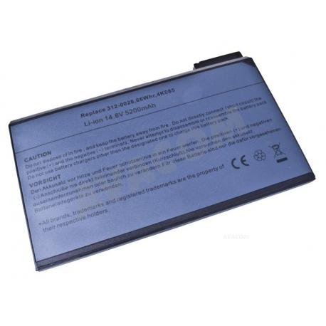 Dell Latitude C610 Baterie pro notebook - 5200mAh 8 článků + doprava zdarma + zprostředkování servisu v ČR