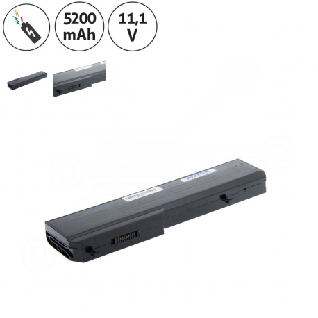 Dell Vostro 1310 Baterie pro notebook - 5200mAh 6 článků + doprava zdarma + zprostředkování servisu v ČR