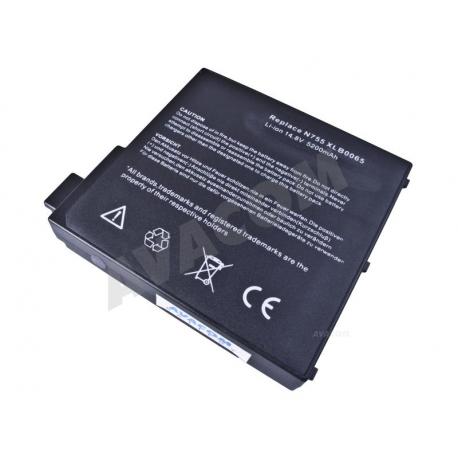 MEDION UN755 Baterie pro notebook - 5200mAh 8 článků + doprava zdarma + zprostředkování servisu v ČR
