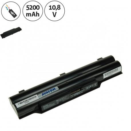 Fujitsu Siemens LIFEBOOK LH520 Baterie pro notebook - 5200mAh 6 článků + doprava zdarma + zprostředkování servisu v ČR