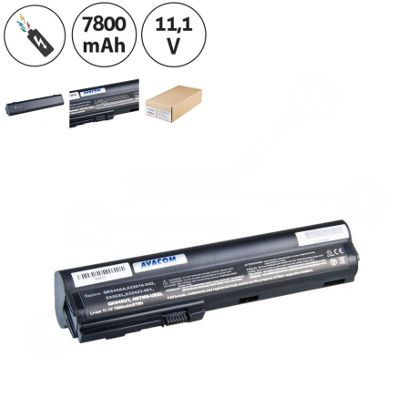 HP EliteBook 2560p Baterie pro notebook - 7800mAh 9 článků + doprava zdarma + zprostředkování servisu v ČR