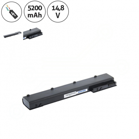 HP EliteBook 8560w Mobile Workstation Baterie pro notebook - 5200mAh 8 článků + doprava zdarma + zprostředkování servisu v ČR