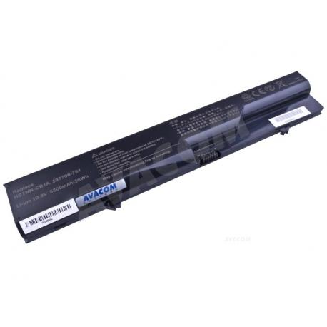 HP Compaq 620 Baterie pro notebook - 5200mAh 6 článků + doprava zdarma + zprostředkování servisu v ČR