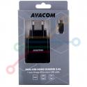 Micro USB, 3,4A, černý, 80cm